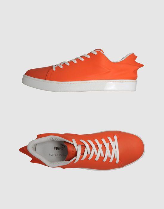 Orange Puma X Hussein Chalayan