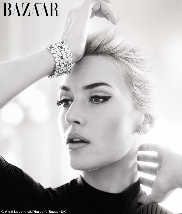 In the April issue of Harper's Bazaar, Miss Winslet says she's learnt 'a great deal' about herself in the past four years