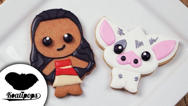 Moana Cookies | Moana | Disney Princess | How To