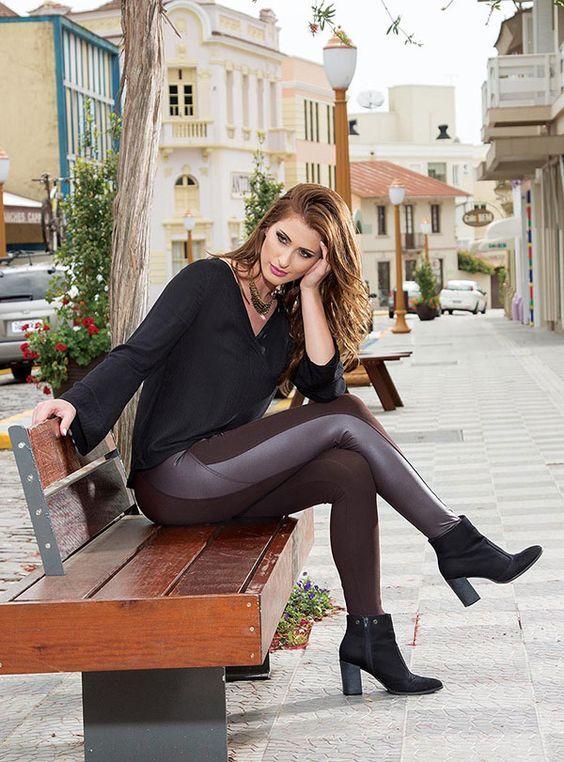 Looks com Legging: Como Usar Desde o Dia até à Noite em 2020 | Fashion, Leggings are not pants, Womens_fashion