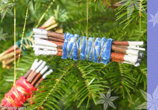 DIY Christmas ornament (Csináld magad karácsonyfadísz)