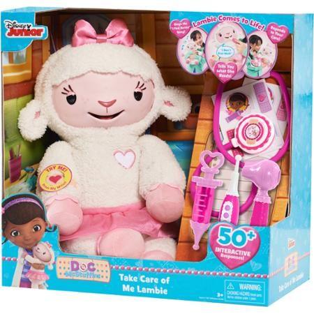 Doc McStuffins Take Care of Me Lambie Interactive Plush - Walmart.com