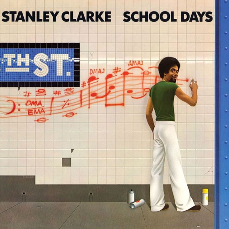 Stanley Clarke - School Days on Limited Edition 180g LP from Friday Music