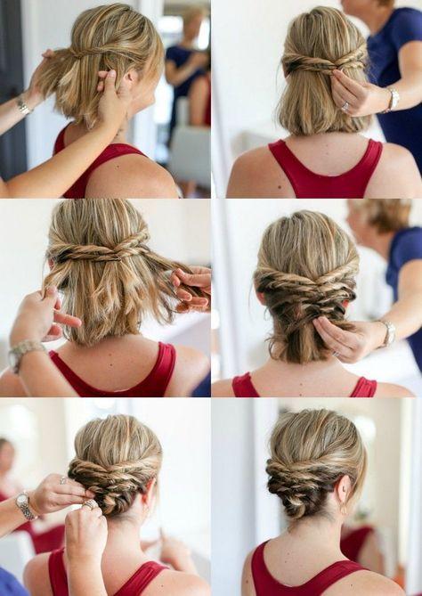Hochsteckfrisuren mit Anleitung zu jedem Anlass und jeder Haarlänge