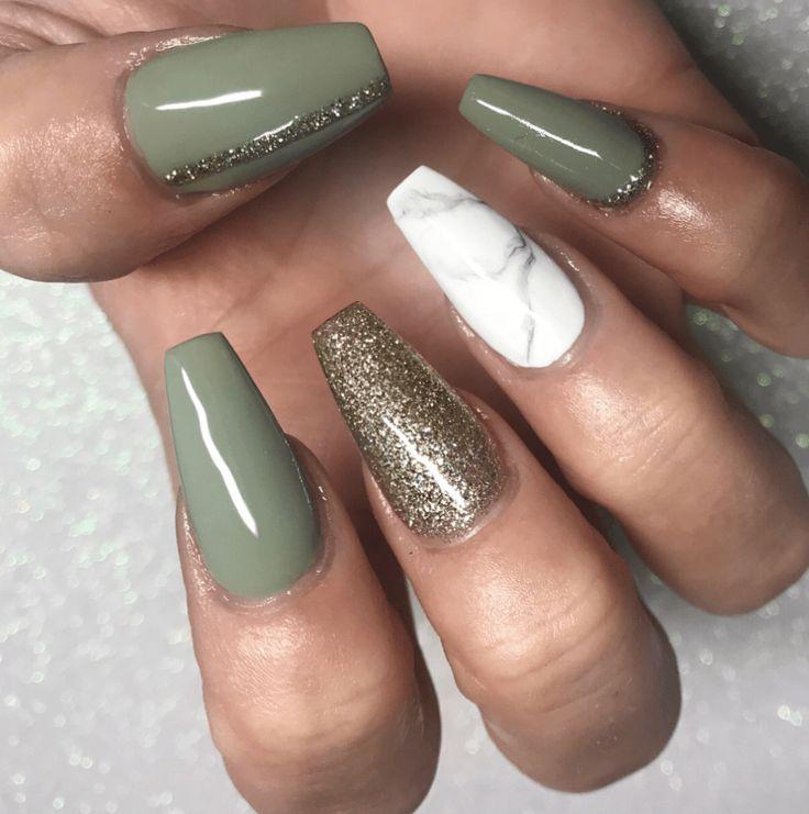 Wie man grüne Nageldesigns trägt und beim Ausprobieren nicht versagt – Nails