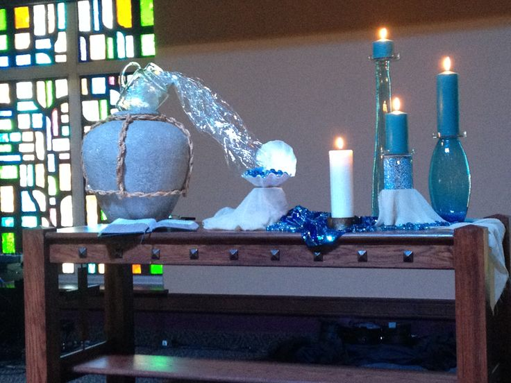 Baptism of the lord 2015 grace avenue umc worship for Decoration epiphanie