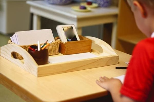 Letter writing Montessori style from Montessori Works