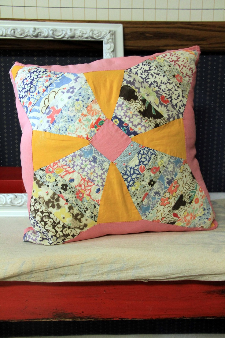 39 Best Quilt Block Pillows Images On Pinterest Quilt