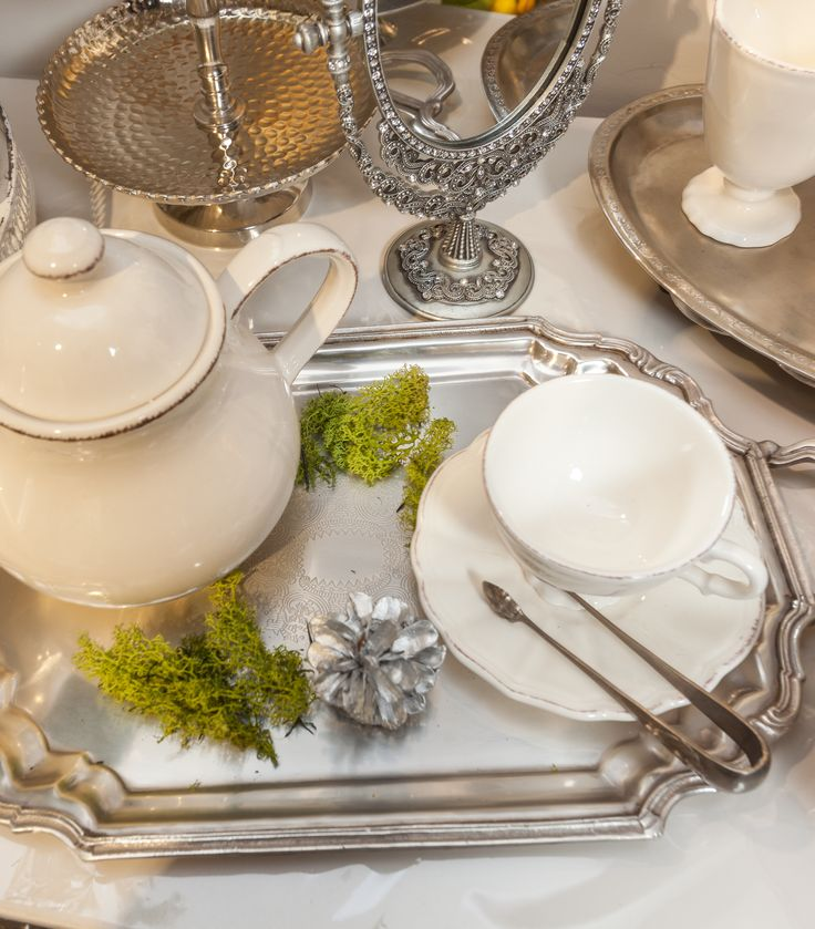 Serve a cup of tea, drink magical Bergamot from Royal Antique cups that will enhance your experience. Dare to live!