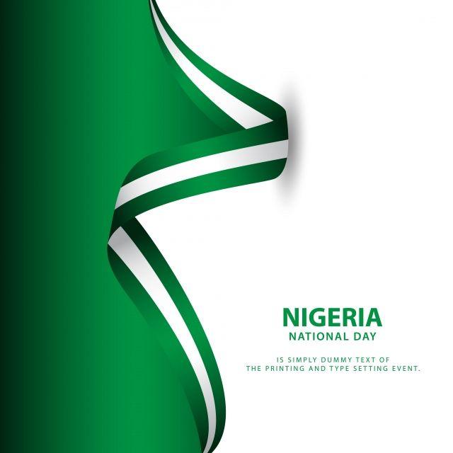 نيجيريا يوم الاستقلال تصميم قالب النواقل التوضيح الأولى خلاصة الخلفية Png والمتجهات للتحميل مجانا Nigeria Independence Day Nigeria Independence Illustration Design