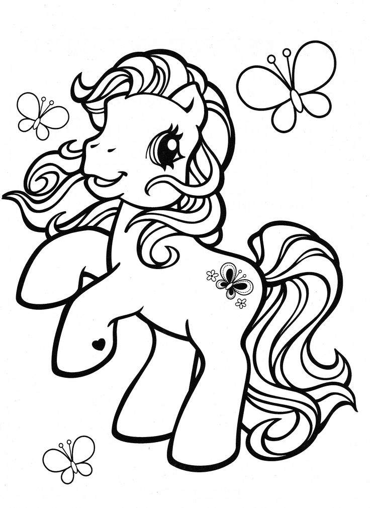 rainbow dash as a filly coloring pages | My Little Pony coloring page MLP - Scootaloo | Kids ...