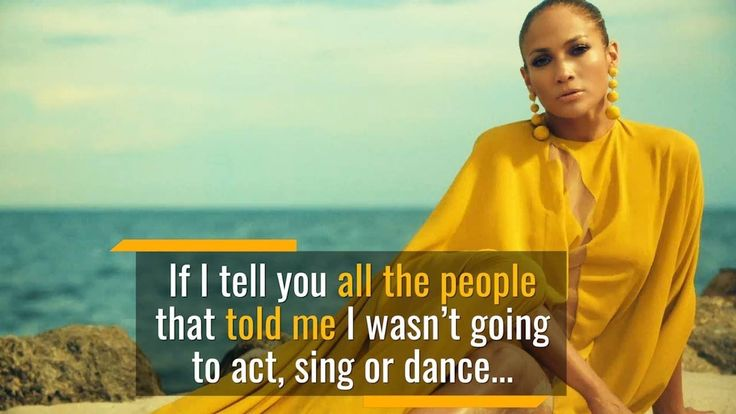 Jennifer Lopez - People Told Me to Quit | Make Anything Happen