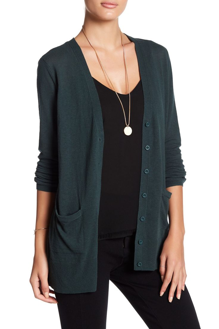Lightweight Girlfriend Cardigan by 14th & Union on @nordstrom_rack