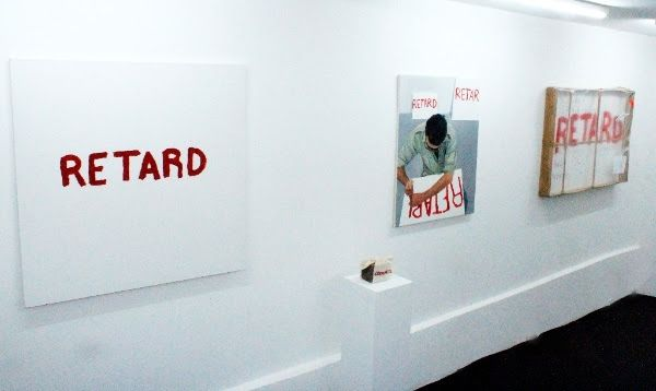 2009,From the exhibition IN ADVANCE OF THE BROKEN ARM at Marianne Friis Gallery