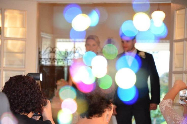 Bubbles wedding fun