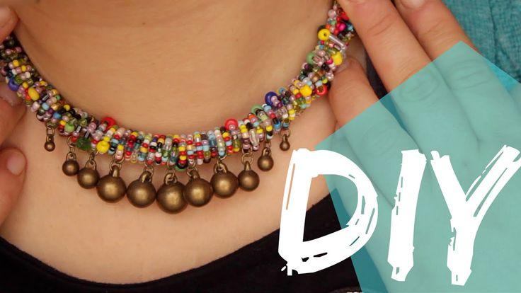 DIY || collana estiva - boho style