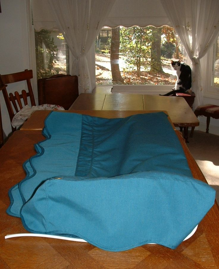 8' x 8' Turquoise Sunbrella Awning for sale  dfoster@bellsouth.net