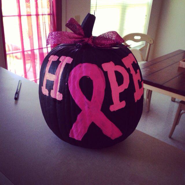 pink pumpkins halloween breast cancer awareness month pumpkin