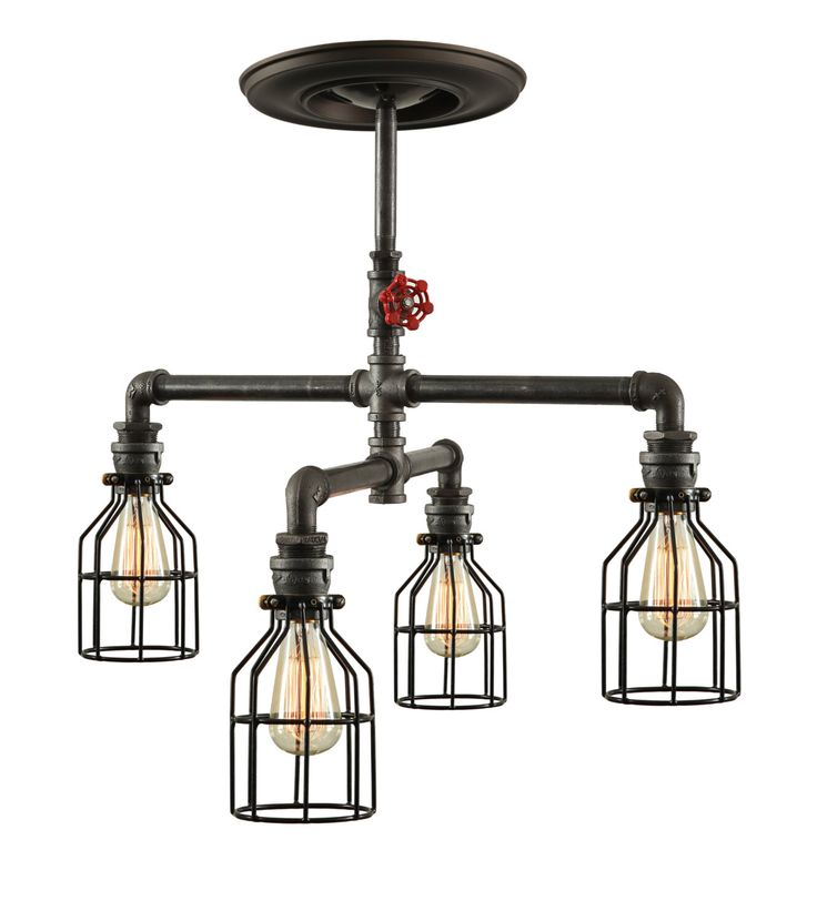 Ceiling Light Support Bar : Best industrial ceiling lights ideas on