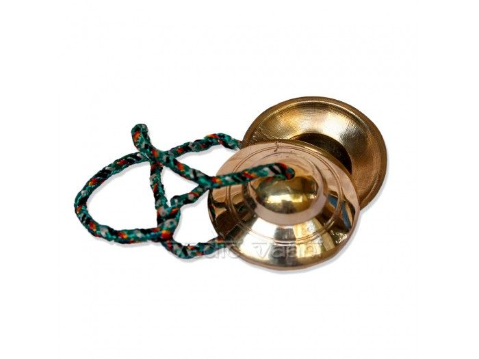 Manjeera is a small metal Instrument,but it produces a sweet tinkling sound when struck together while doing Jugalbandhi with other Instruments. http://vedicvaani.com/index.php?_route_=Brass-Manjira .However, Manjeera playing is not an easy task, it requires a lot of Abhyasa (practice) and deep knowledge of Sur and Taal. Buy Brass Manjira online from India
