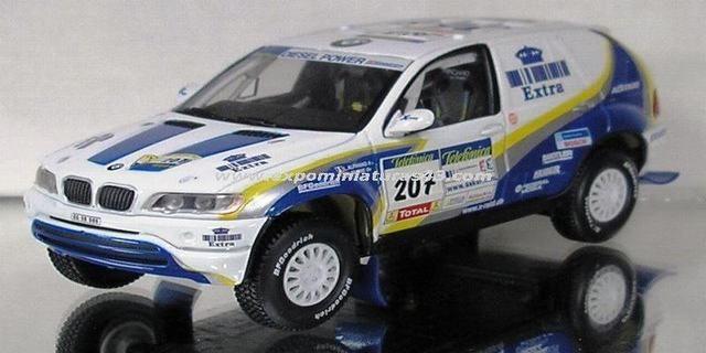 Dakar 2004 BMW X5 Rally Raid Alphand/Magne 1/43