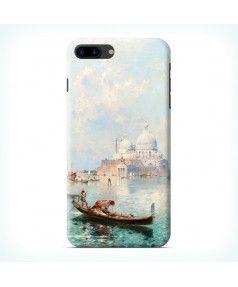 Чехол для Iphone 7 Plus Гондолы на фоне Санта-Мария-делла-Салюте, Венеция купить в интернет-магазине BeautyApple.ru.