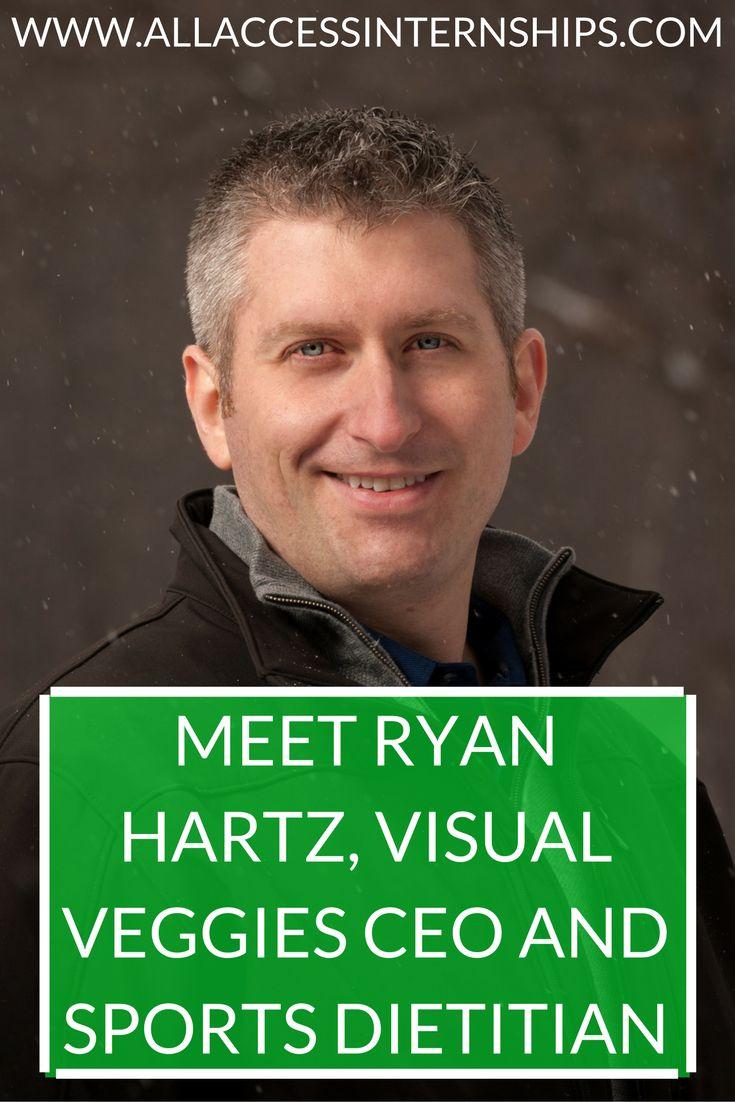 MEET RYAN HARTZ, VISUAL VEGGIES CEO AND SPORTS DIETITIAN  http://www.allaccessinternships.com/blog/2016/04/27/meet-ryan-hartz-visual-veggies-ceo-and-sports-dietitian/ #RD2BE