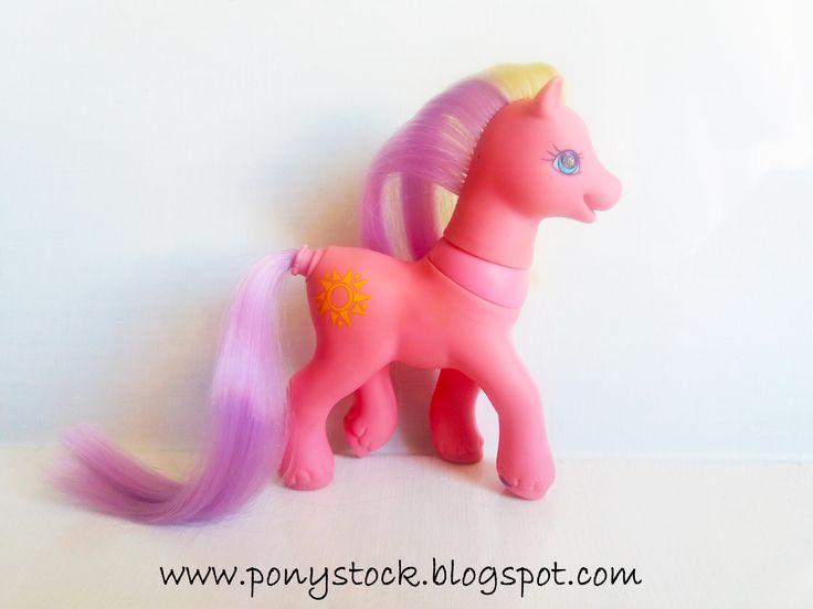 Sunsparkle (Magic Motion Family Ponies 2000) G2 My Little Pony Hasbro