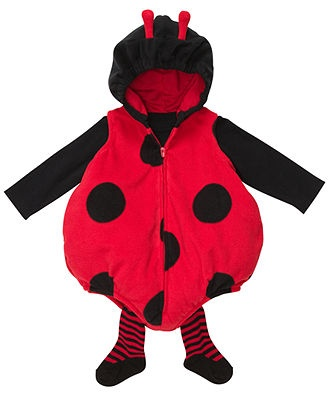 Carter's Baby Costume, Baby Girls 3-Piece Ladybug Costume - Kids Halloween Shop - Macy's