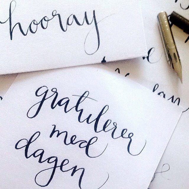 Søndagssysler #kalligrafi #calligraphy #handlettering #kort #invitasjoner #type #gratulerer #hooray #nib #bursdag #dailylettering #typecomesfirst #type #typography #lettering #calligraphy #typematters #thedailytype #goodtype #typeverything #calligritype #typographyjournalsubmission @handmadefont #typespire #showusyourtype #typedaily @typecally #typegang #TYxCA  #thedesigntip