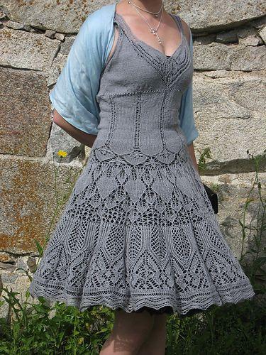 Ravelry: jofaliina's Gray Swan Dress