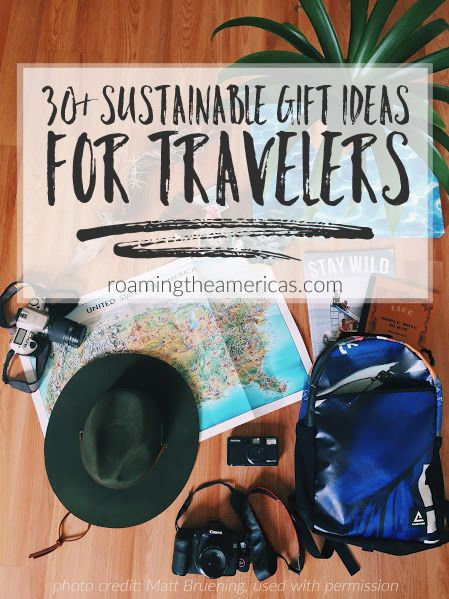 gift guide for travelers | sustainable gift ideas | eco-friendly holiday travel gifts #christmas #christmasgifts #christmasgiftguide   @roamtheamericas