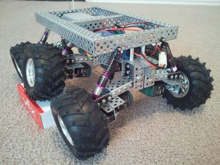 PAROVOZ: #6WD all-terrain #robot #platform | Let's Make Robots!