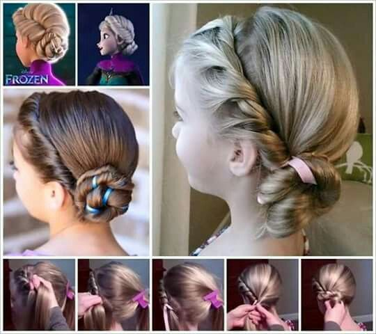 Cool 1000 Ideas About Frozen Hairstyles On Pinterest Graduation Short Hairstyles For Black Women Fulllsitofus