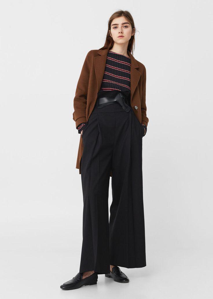 Pleated blouse | MANGO