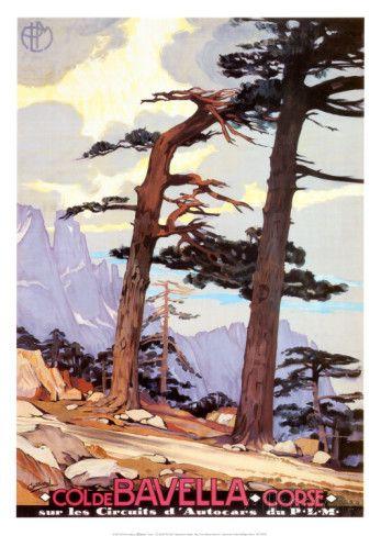 Korsika, Col de Bavella Poster bei AllPosters.de