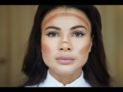 Como contornear el rostro con maquillaje   Doralys Britto - YouTube