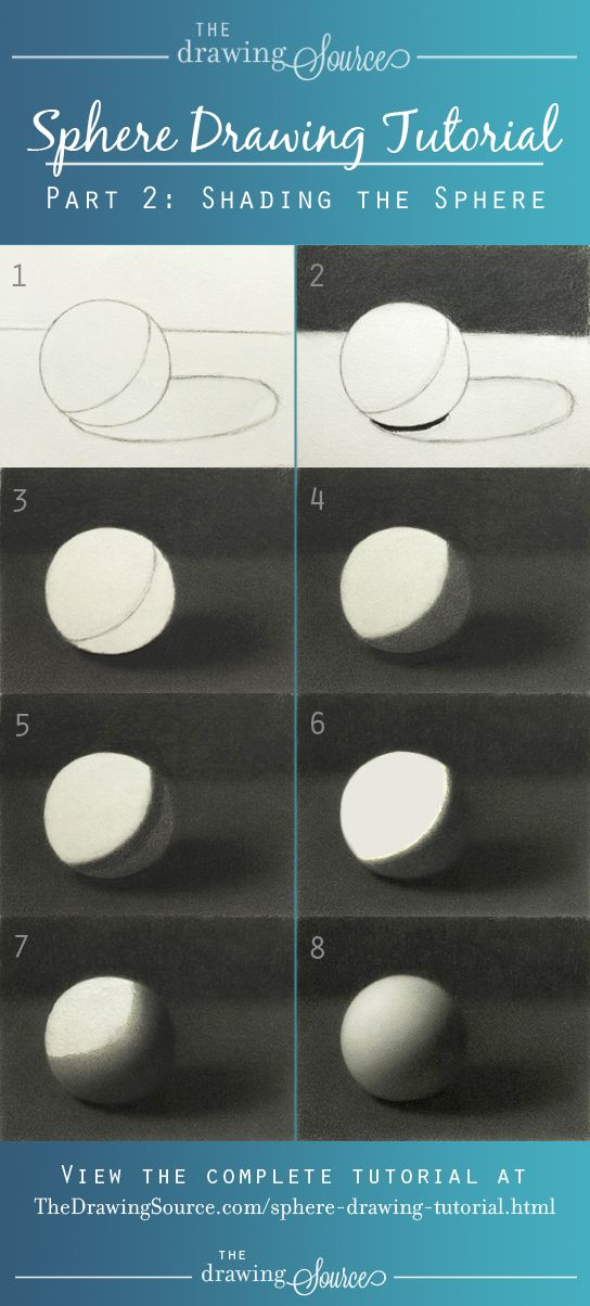 Learn how to draw a sphere! View the complete sphere drawing tutorial at: http://www.thedrawingsource.com/shading-a-sphere.html