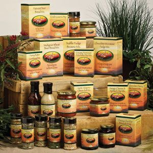 Some of the wonderful Sunset Gourmet products - many are gluten free, all natural and no added MSG!