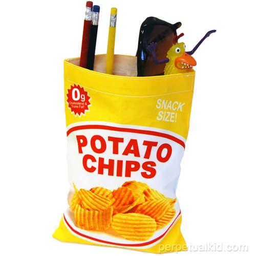 Potato Chip Bag. Cheap boyfriend gifts - more gift ideas at http://buyhimthat.com