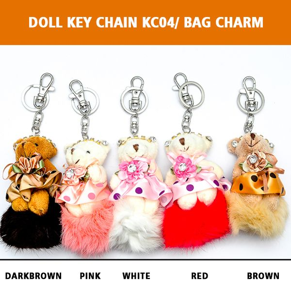 Doll Key Chain DKC04/ Bag Charm Rp 60.000