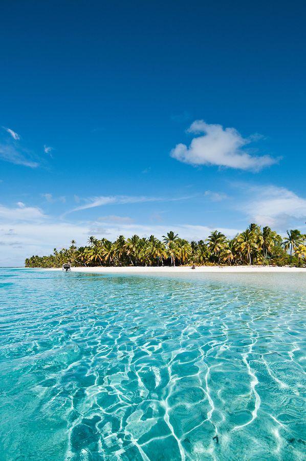 One Foot Island Tapuaetai Island Aitutaki Island Cook