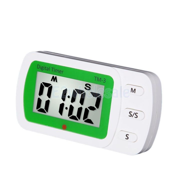 Lcd Digital Cooking Kitchen Helper Countdown Up Timer Alarm Food Clock #3