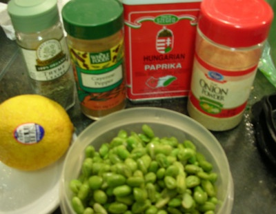 SOY-BEAN FILLING FOR SANDWICHES ~ Are you surprised? I was! For some reason I tend to think of soybeans as a product of our modern age, along with yoga mats and Frappuccinos. That is, until I stumbled across a recipe in this nifty ...