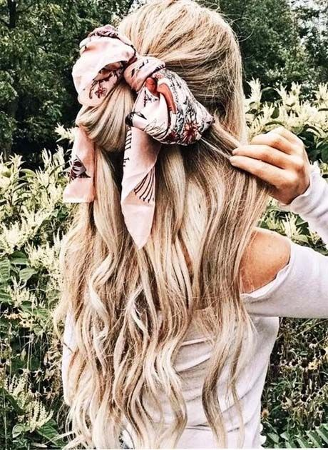 Newest Hairstyles With Scarfs Concepts For Ladies 2019