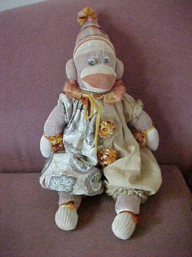 17 besten Sock Monkeys Bilder auf Pinterest | Fimo, Polymere und ...