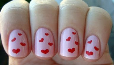 Unhas Decoradas BR Unhas Decoradas para o Dia dos Namorados