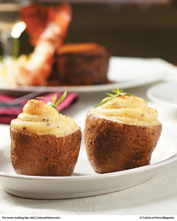 Twice-Baked Potatoes | Cuisine at home eRecipes
