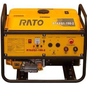 All welding sets deliver powerful, stable welding current and auxiliary power from the Rato super heavy duty engine. With up to 3kW of auxiliary power these machines are an essential piece of equipment for repairs in remote areas or construction such as pipelines. Welding current is controlled by the latest solid state technology to give smooth control and superior quality welds. Most people that know welding will tell you that gasoline welding sets.