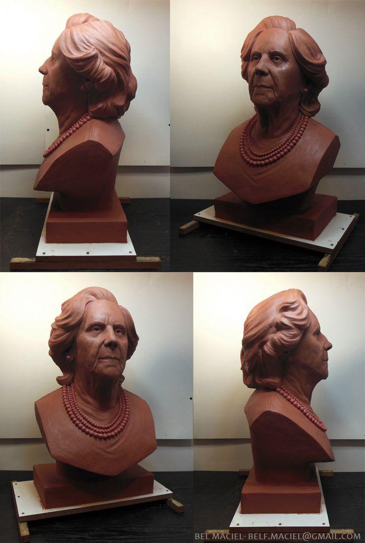 ArtStation - Commissioned Busts, Bel Maciel